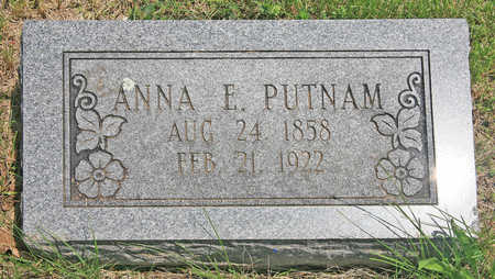 PUTNAM, ANNA E - Benton County, Arkansas | ANNA E PUTNAM - Arkansas Gravestone Photos