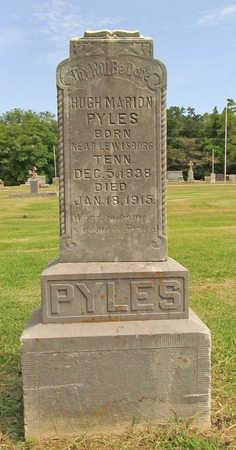 PYLES, HUGH MARION - Benton County, Arkansas | HUGH MARION PYLES - Arkansas Gravestone Photos