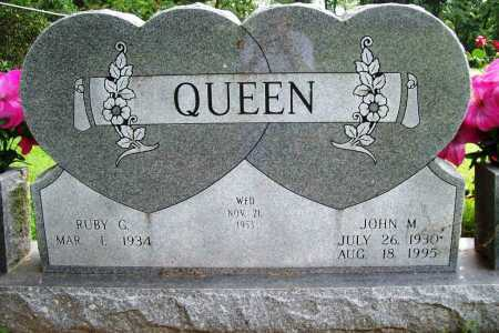 QUEEN, JOHN M JR - Benton County, Arkansas | JOHN M JR QUEEN - Arkansas Gravestone Photos