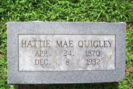 QUIGLEY, HATTIE MAE - Benton County, Arkansas | HATTIE MAE QUIGLEY - Arkansas Gravestone Photos