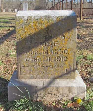 RADKE, GUSTAV W. - Benton County, Arkansas | GUSTAV W. RADKE - Arkansas Gravestone Photos