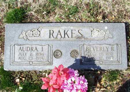 RAKES, BEVERLY R. - Benton County, Arkansas | BEVERLY R. RAKES - Arkansas Gravestone Photos