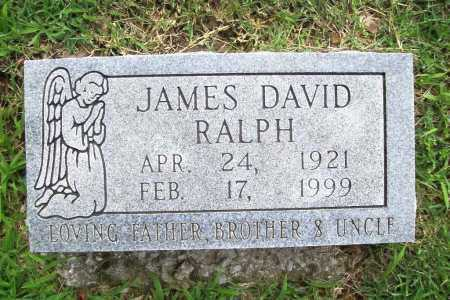 RALPH, JAMES DAVID - Benton County, Arkansas | JAMES DAVID RALPH - Arkansas Gravestone Photos
