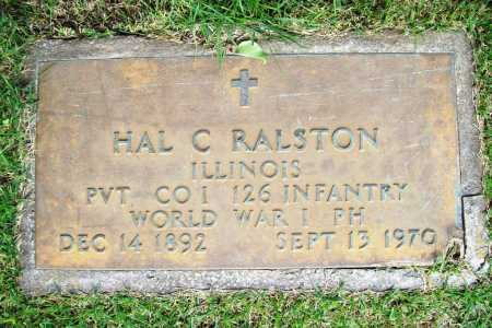 RALSTON (VETERAN WWI), HAL C. - Benton County, Arkansas | HAL C. RALSTON (VETERAN WWI) - Arkansas Gravestone Photos