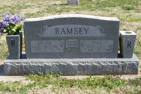 RAMSEY, PAUL L. - Benton County, Arkansas | PAUL L. RAMSEY - Arkansas Gravestone Photos