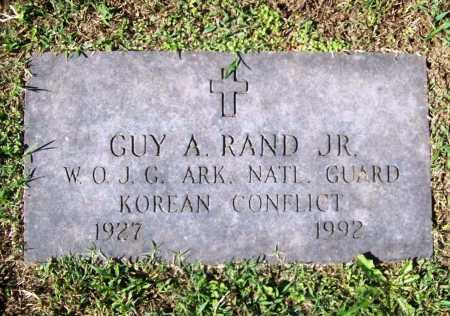 RAND JR. (VETERAN KOR), GUY A - Benton County, Arkansas | GUY A RAND JR. (VETERAN KOR) - Arkansas Gravestone Photos