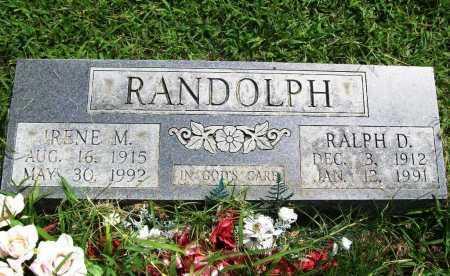 RANDOLPH, RALPH DELBERT - Benton County, Arkansas | RALPH DELBERT RANDOLPH - Arkansas Gravestone Photos
