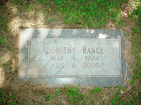 RANGE, DOROTHY - Benton County, Arkansas | DOROTHY RANGE - Arkansas Gravestone Photos