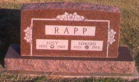 RAPP, EDWARD W. - Benton County, Arkansas | EDWARD W. RAPP - Arkansas Gravestone Photos