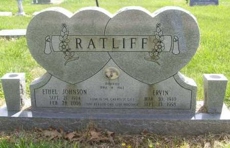 JOHNSON RATLIFF, ETHEL - Benton County, Arkansas | ETHEL JOHNSON RATLIFF - Arkansas Gravestone Photos