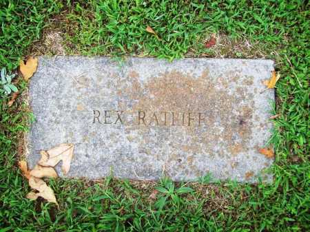 RATLIFF, REX - Benton County, Arkansas | REX RATLIFF - Arkansas Gravestone Photos