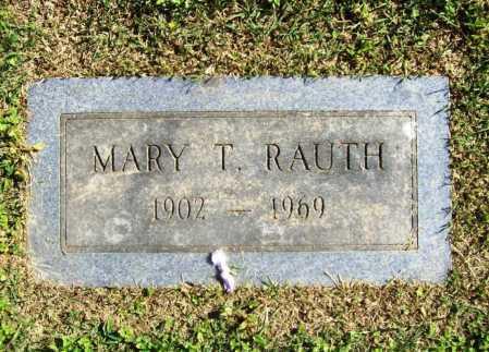 RAUTH, MARY T. - Benton County, Arkansas | MARY T. RAUTH - Arkansas Gravestone Photos