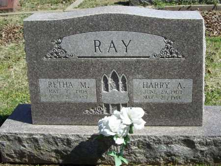 RAY, RETHA M. - Benton County, Arkansas | RETHA M. RAY - Arkansas Gravestone Photos