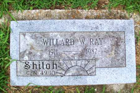 RAY, WILLARD W. - Benton County, Arkansas | WILLARD W. RAY - Arkansas Gravestone Photos