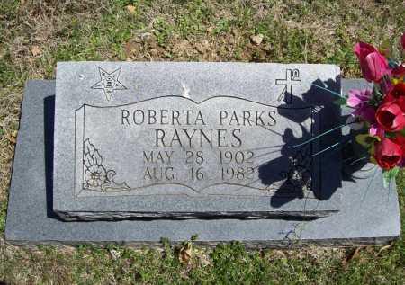 PARKS RAYNES, ROBERTA - Benton County, Arkansas | ROBERTA PARKS RAYNES - Arkansas Gravestone Photos