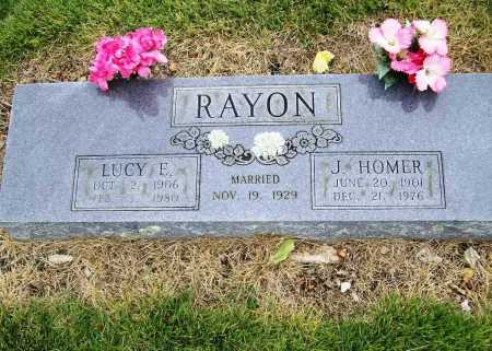 RAYON, LUCY E. - Benton County, Arkansas | LUCY E. RAYON - Arkansas Gravestone Photos