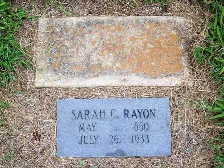RAYON, SARAH C. - Benton County, Arkansas | SARAH C. RAYON - Arkansas Gravestone Photos