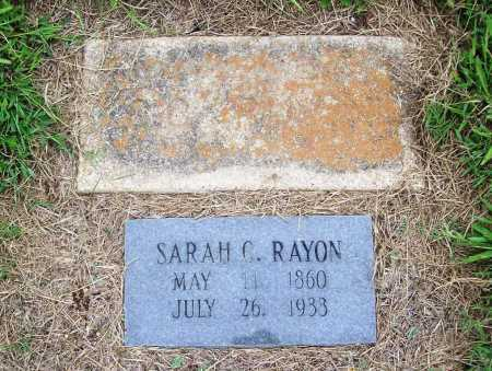 RAYON, SARAH CATHERINE - Benton County, Arkansas | SARAH CATHERINE RAYON - Arkansas Gravestone Photos