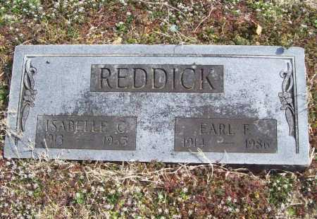 REDDICK, EARL F. (RED) - Benton County, Arkansas | EARL F. (RED) REDDICK - Arkansas Gravestone Photos