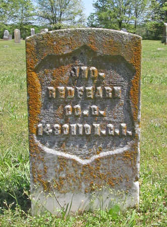 REDFEARN (VETERAN UNION), JOHN  (1) - Benton County, Arkansas | JOHN  (1) REDFEARN (VETERAN UNION) - Arkansas Gravestone Photos