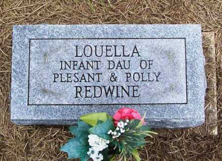 REDWINE, LOUELLA - Benton County, Arkansas | LOUELLA REDWINE - Arkansas Gravestone Photos