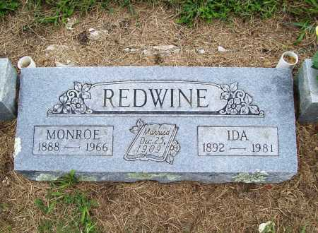 REDWINE, MONROE - Benton County, Arkansas | MONROE REDWINE - Arkansas Gravestone Photos