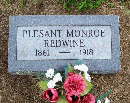 REDWINE, PLESANT MONROE - Benton County, Arkansas | PLESANT MONROE REDWINE - Arkansas Gravestone Photos