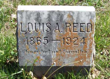 REED, LOUIS A. - Benton County, Arkansas | LOUIS A. REED - Arkansas Gravestone Photos