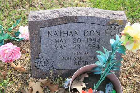 REED, NATHAN DON - Benton County, Arkansas | NATHAN DON REED - Arkansas Gravestone Photos