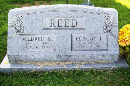 REED, MILDRED M. - Benton County, Arkansas | MILDRED M. REED - Arkansas Gravestone Photos