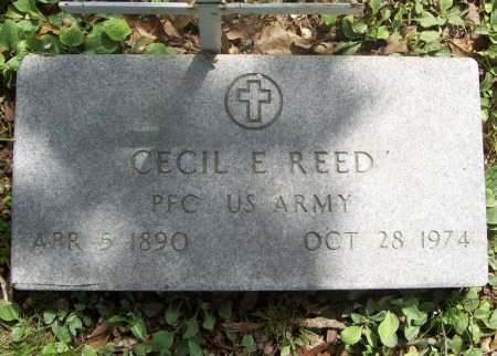 REED (VETERAN WWI), CECIL EMERSON - Benton County, Arkansas | CECIL EMERSON REED (VETERAN WWI) - Arkansas Gravestone Photos
