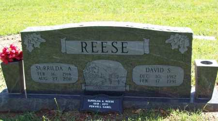 REESE, DAVID SAMUEL - Benton County, Arkansas | DAVID SAMUEL REESE - Arkansas Gravestone Photos