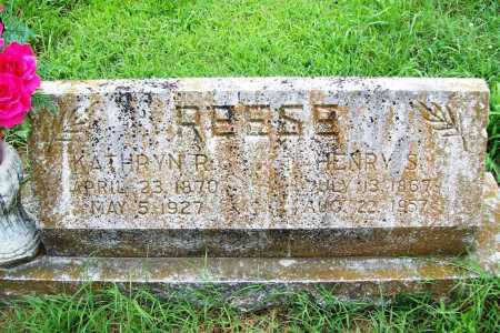 REESE, HENRY S. - Benton County, Arkansas | HENRY S. REESE - Arkansas Gravestone Photos