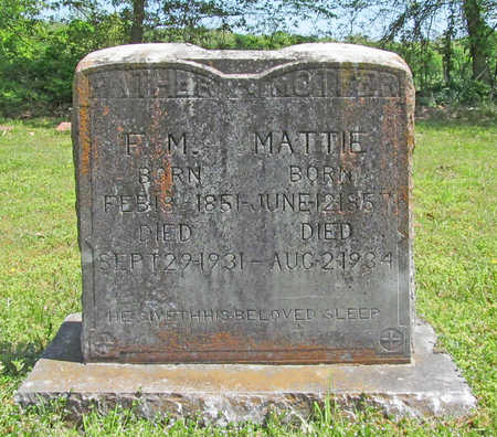 RENFRO, MATTIE - Benton County, Arkansas | MATTIE RENFRO - Arkansas Gravestone Photos