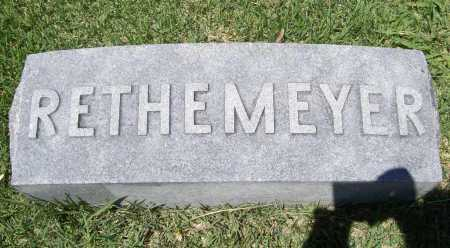RETHEMEYER, FAMILY MARKER - Benton County, Arkansas | FAMILY MARKER RETHEMEYER - Arkansas Gravestone Photos