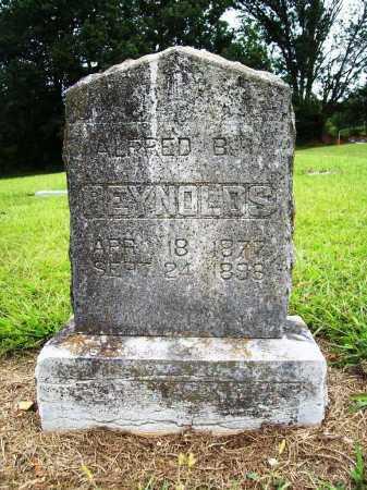 REYNOLDS, ALFRED B. - Benton County, Arkansas   ALFRED B. REYNOLDS - Arkansas Gravestone Photos