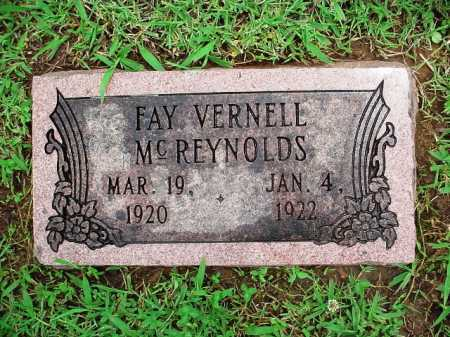 REYNOLDS, FAY VERNELL - Benton County, Arkansas | FAY VERNELL REYNOLDS - Arkansas Gravestone Photos