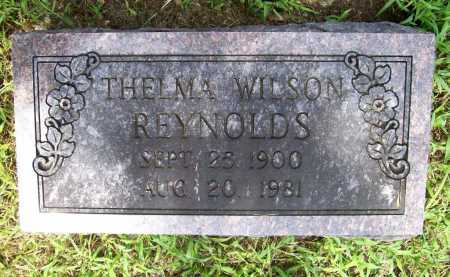 WILSON REYNOLDS, THELMA - Benton County, Arkansas | THELMA WILSON REYNOLDS - Arkansas Gravestone Photos