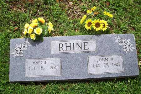 RHINE, DR. JOHN RICHARD - Benton County, Arkansas | DR. JOHN RICHARD RHINE - Arkansas Gravestone Photos