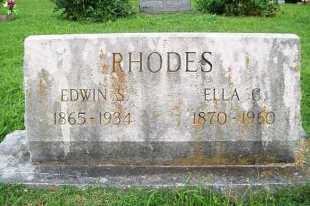 RHODES, ELLA C. - Benton County, Arkansas | ELLA C. RHODES - Arkansas Gravestone Photos