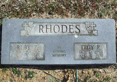 RHODES, RUBY Z. - Benton County, Arkansas | RUBY Z. RHODES - Arkansas Gravestone Photos