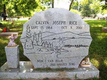 RICE, CALVIN JOSEPH - Benton County, Arkansas | CALVIN JOSEPH RICE - Arkansas Gravestone Photos