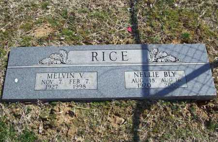 RICE, MELVIN V. - Benton County, Arkansas | MELVIN V. RICE - Arkansas Gravestone Photos