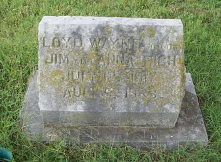 RICH, LOYD WAYNE - Benton County, Arkansas | LOYD WAYNE RICH - Arkansas Gravestone Photos