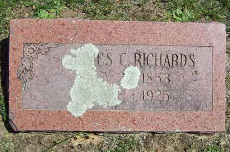 RICHARDS, JAMES C. - Benton County, Arkansas | JAMES C. RICHARDS - Arkansas Gravestone Photos