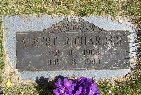 RICHARDSON, ALBERT - Benton County, Arkansas | ALBERT RICHARDSON - Arkansas Gravestone Photos