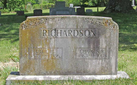RICHARDSON, CHARLES R - Benton County, Arkansas | CHARLES R RICHARDSON - Arkansas Gravestone Photos
