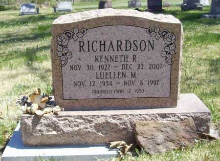 RICHARDSON, KENNETH R. - Benton County, Arkansas | KENNETH R. RICHARDSON - Arkansas Gravestone Photos