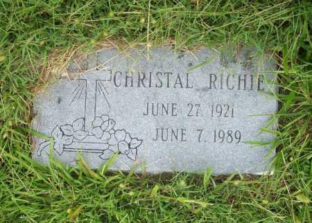 RICHIE, CHRISTAL - Benton County, Arkansas | CHRISTAL RICHIE - Arkansas Gravestone Photos