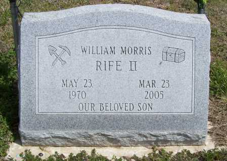 RIFE, WILLIAM MORRIS II - Benton County, Arkansas | WILLIAM MORRIS II RIFE - Arkansas Gravestone Photos